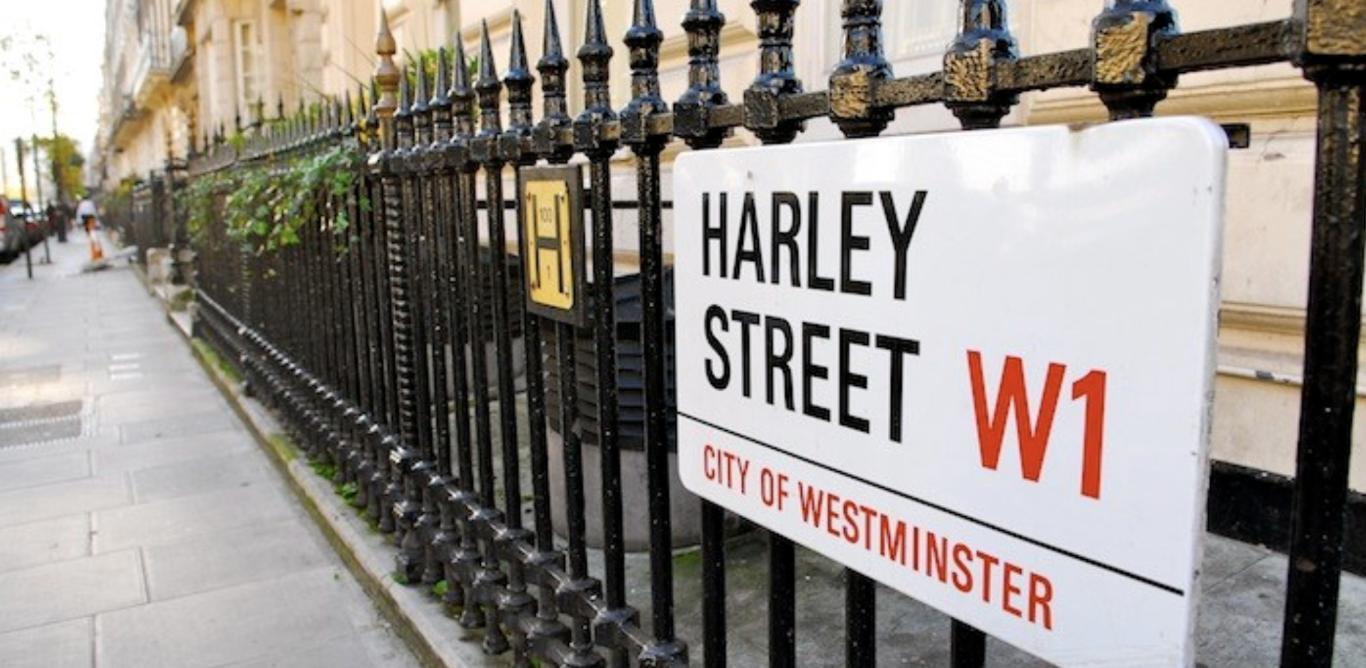 harley street sign (Medium)